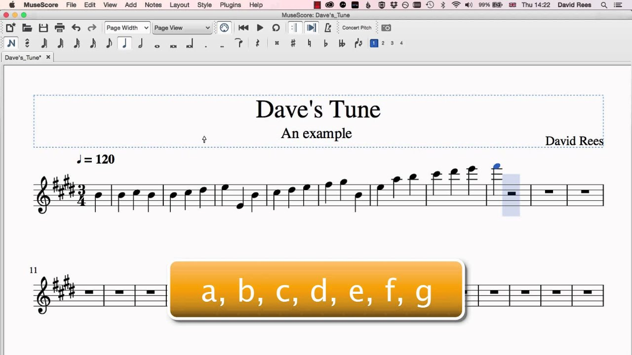 Using the Keyboard | MuseScore Crash Course