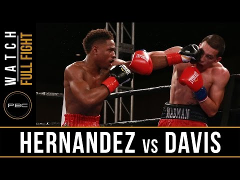 Hernadez vs Davis FULL FIGHT: March 28, 2017 - PBC on FS1