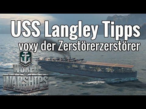 World of Warships ·Strategie Tipps USS Langley Flugzeugträger [guide · deutsch]