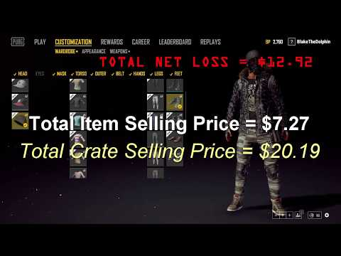 how to sell pubg items on steam market