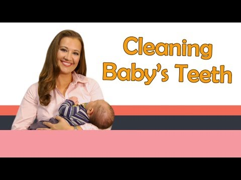 CLEANING BABY'S TEETH AND GUMS | Baby Care With Jenni June