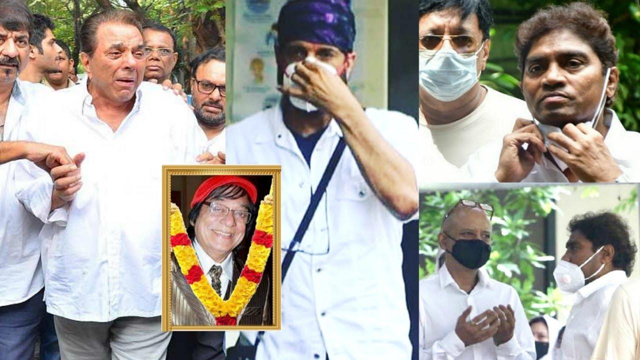 Javed Jaffrey Father Jagdeep Jaffrey Last Rites FULL VIDEO | Johny Lever, Naved Jaffrey, Mizaan
