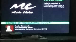 Not even 24hrs passed,  and ch.941 (Music Choice: Sounds of The Season) have began playing Christmas