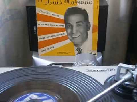 Luis Mariano  Amour, Castagnettes et tango  1956  (olé !)