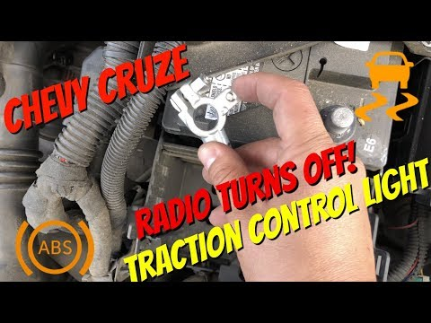 2011-2015 CHEVY CRUZE SERVICE TRACTION CONTROL (STABILITRAK