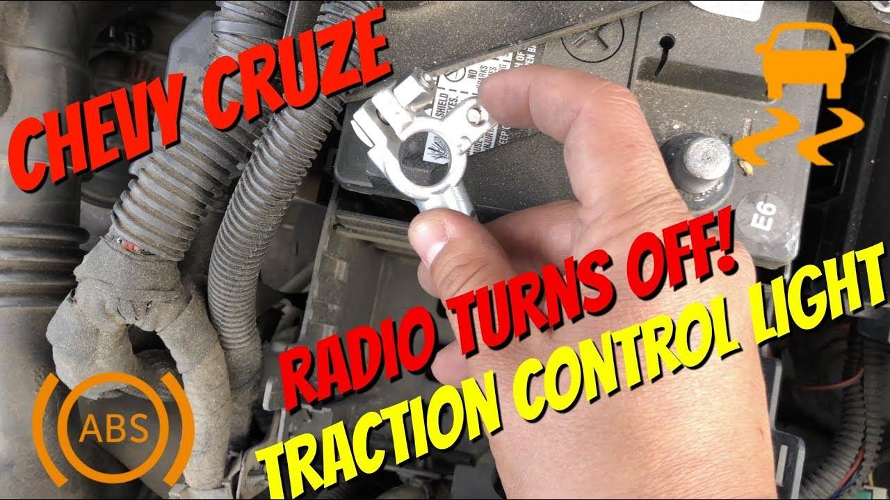 2011 2015 chevy cruze service traction control stabilitrak radio turns off fix  [ 1280 x 720 Pixel ]
