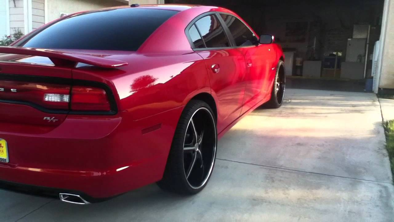 2011 Charger On 24s Youtube