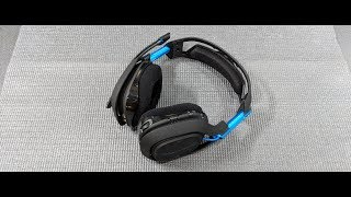 Astro Gaming A50 Wireless Gaming Headset Unboxing