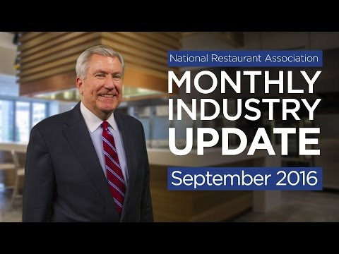 Restaurant Industry Update - September 2016