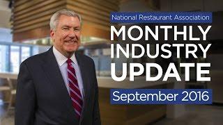 Restaurant Industry Update - September 2016