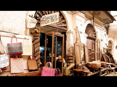 Your Manila tour guide takes you to Vigan to shop for antiques