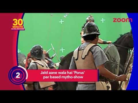 New Mythological Show To Enter Telvision Industry Name 'Porus' | #TellyTopUp