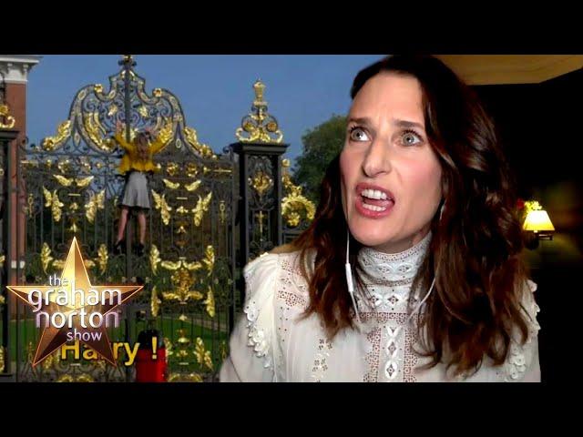 Camille Cottin Climbed Kensington Palace Shouting 'HARRY' | The Graham Norton Show