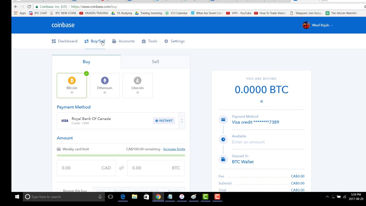 How to buy bitcoin with coinbase and set up a multi cryptocurrency how to buy bitcoin with coinbase and set up a multi cryptocurrency wallet ccuart Images