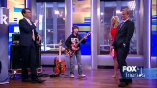 AMZING:  11-Year-Old Guitar Prodigy Blows Fox and Friendss Minds Away