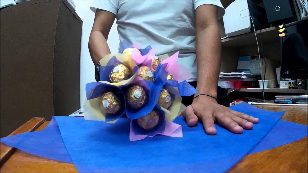 Diy ferrero bouquet for diana lee youtube diy ferrero bouquet for diana lee izmirmasajfo