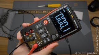 RICHMETERS RM409B цифровий мультиметр з Китаю з великим функціоналом! Ліземо в розетку!