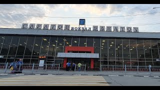 Влог ЖД Вокзал в Саратове