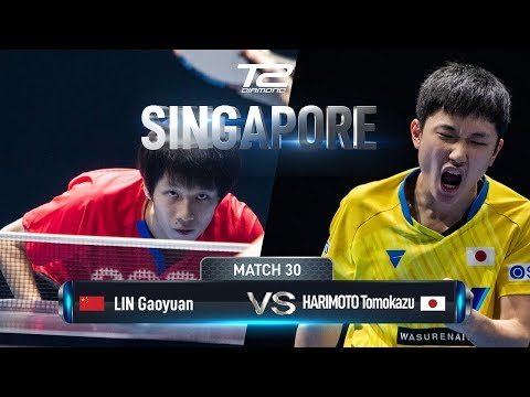Tomokazu Harimoto Vs Lin Gaoyuan | T2 Diamond 2019 Singapore (Bronze Medal Match