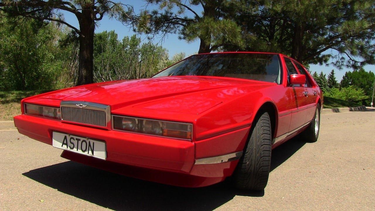 Classics Revealed The 1984 Aston Martin Lagonda Rides Again Youtube