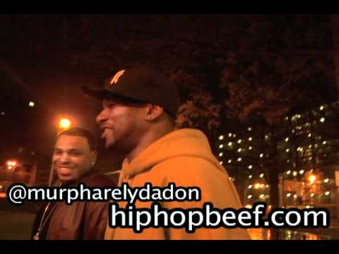 Cam'ron Visits Stapleton Projects in Staten Island NY