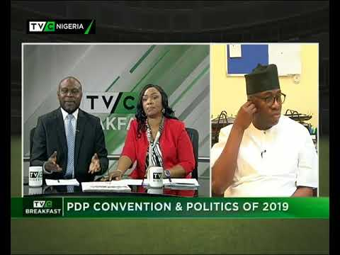 TVC Breakfast 6th December 2017 | PDP Convention and Politics of 2019