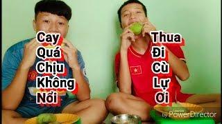 Gambar cover RÙA VLOGS - 🔥Thử Thách Ăn Xoài Chua Siêu Cay ( challenge to eat mango sour super spicy)💧