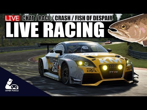 LIVE RACING - ASSETTO CORSA - iRACING -  GAMER MUSCLE - ITS GO TIME