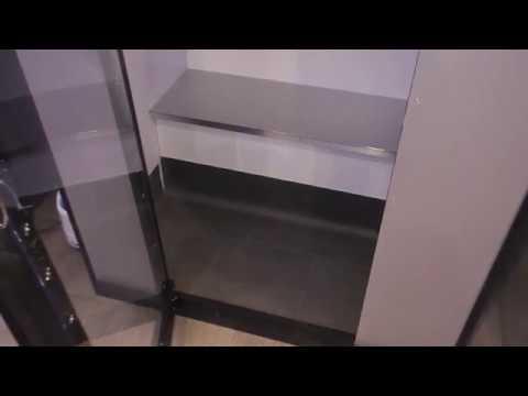 dampfsauna kabine g nstig selber bauen youtube. Black Bedroom Furniture Sets. Home Design Ideas
