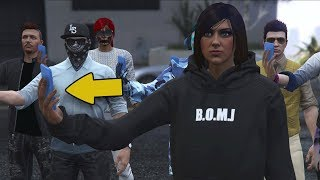 WHAT HAPPENS IF ALL PLAYERS IN SESSION CALL TO THE POLICE - GTA V