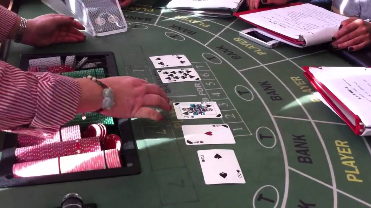 How To Deal Baccarat
