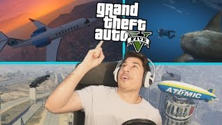 "Grand Theft Auto 5 -""ZEZANCIJA PUNA ADRENALIN!!!"""