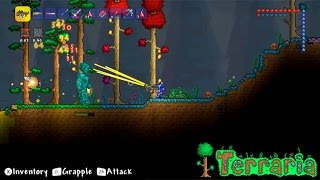 Terraria Wii U – HD Gameplay, Gamepad (HD Direct Capture)