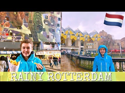 🇳🇱 What to do in rainy Rotterdam, Netherlands 🌧