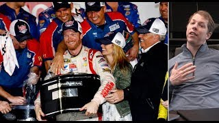 Brad Keselowski breaks down Dale Earnhardt Jr.'s 2014 Daytona 500 winning moves | NASCAR