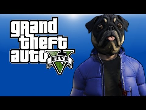 Thumbnail: GTA 5 PC Online - Flying Cars, Ramp Cars, Ugly Masks, and Rocket Cars! - (Delirious' Perspective!)