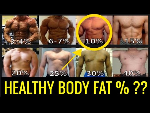 What Is A Healthy Body Fat Percentage For Men? (Charts & Ranges)