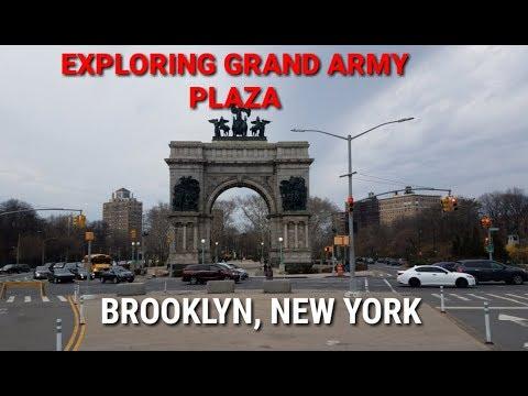 Exploring Grand Army Plaza - Brooklyn, New York