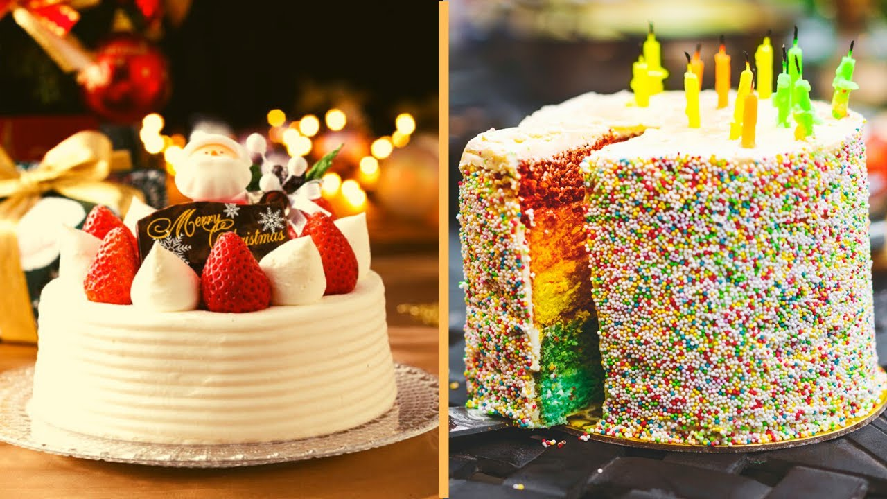 18+ Easy Cake Decorating Tutorials   So Yummy Colorful ...