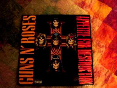 Guns N' Roses: Appetite For Destruction Vinyl Review