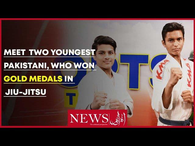 Meet Two Youngest Pakistani, Who Won Gold Medals In Jiu-Jitsu Tournament