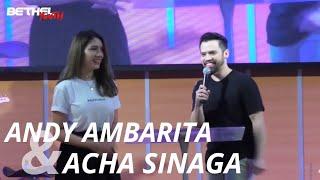 Andy Ambarita & Acha Sinaga    Youtuber & Influencer Fashion   Bethel Youth Bandung