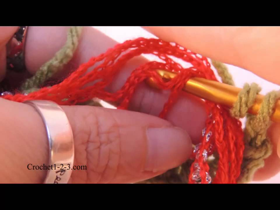 Crochet 1-2-3 Issue 8: Using Premier Yarns Starbella Flash