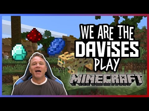 Exploring For Resources   Minecraft EP-3   We Are The Davises Gaming