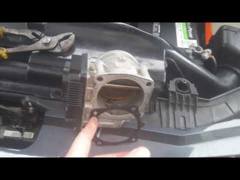 How to replace the throttle body iac idle air control on 2005 Nissan quest