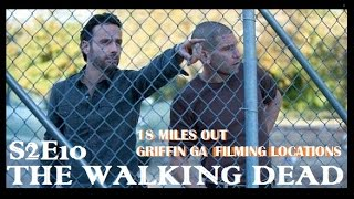 The Walking Dead |  S2E10 18 Miles Out | FILMING LOCATION