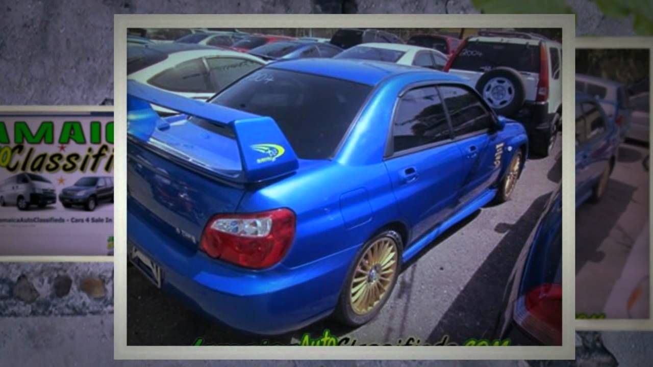 cars in jamaica - subaru wrx  2004