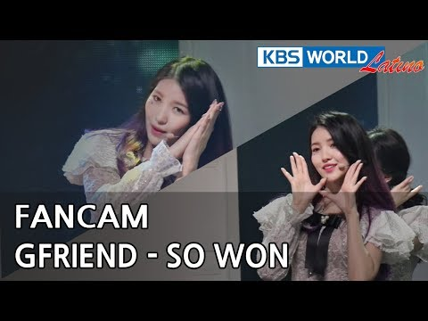 [FOCUSED] GFRIEND's SO WON - Time for the moon night [Music Bank / 2018.05.04] - 동영상