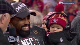 San Francisco 49ers Full George Halas Trophy Presentation | NFL