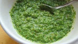 Almond Arugula Pesto Recipe - Fresh Arugula Pesto